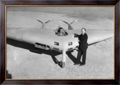 Картина Джон Нортроп  - летчик-испытатель,