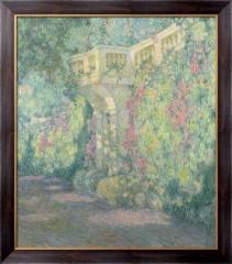 Картина Перила и двери на террасу, Сиданер, Генри