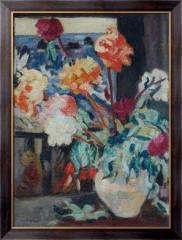Картина Пионы в вазе, Валте, Луи