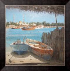 Картина Старый-Новый Баттин, Абу-Даби,  Бартлетт,