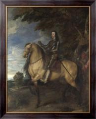 Картина Портрет Карла I  на коне, Дейк, Антонис
