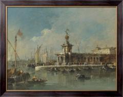 Картина Венеция - Пунта делла Догане, Гварди,