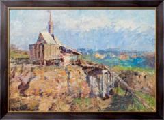 Картина Ричмонд, каменная дробилка, 1910,