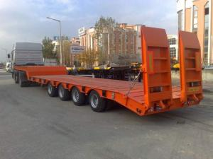 Semi-trailers - the heavy trucks, new, Turkey