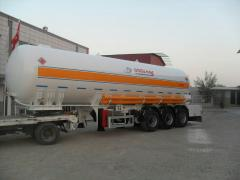 Semi-trailers LPG gas carriers, Turkey