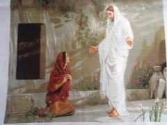 """Вишита картина Ікона """"Ісус і Марія"""""""