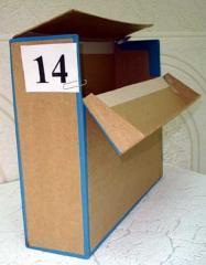Папки, короба архивные, удостоверения, переплет