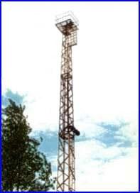Антенные башни для телевизионной, мобильной и