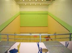 Construction squash courts
