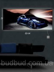 Картина С Подсветкой Автомобиль (29*69см)