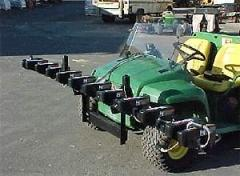 The automated systems of exact spraying Weed