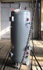 Вертикальный воздухосборник (Ресивер)  V-1 м.куб от производителя
