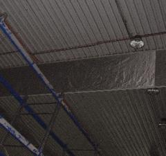 Curtain smoke-proof (automatic)