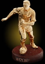Football player (gold)