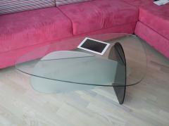 Стеклянная мебель. Столики.