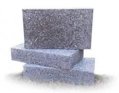 Арболитовые блоки теплоизоляцционные