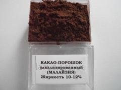 Cocoa powder alkalizirovanny JB 800 (JB Cocoa, Malaysia) for candy manufacture