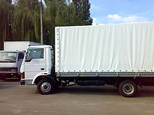 Автомобили грузовые БАЗ T713.12, Борт-тент,