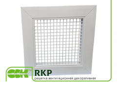 Ventilating grate decorative RKP. Elements and