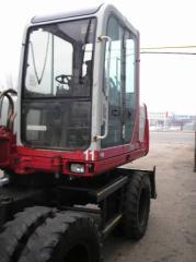 Excavator wheel TAKEUCHI TB070W