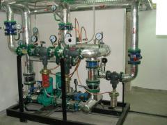 البنود الحرارة كتلة المركزية والفردية
