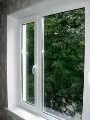 Windows and doors of PVC, plastic GEALAN and DIMEX
