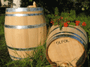 Barrels are oak