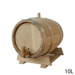 Бочки для вина дубові 10 л