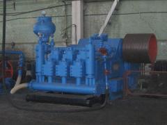 Pump boring three-piston DBNT-1600