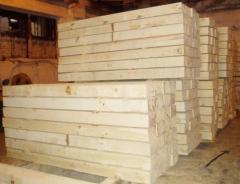 Cross ties wooden GOST 78-2009