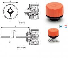 Пробка герметичная SFW, с 2 клапанами