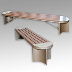 Bench for garden LSP 11A