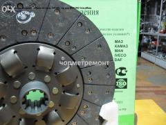 Диск сцепления на двигателя ЯМЗ (МАЗ,КрАЗ) 182,184