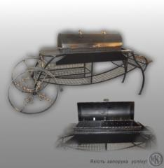 Brazier of M 9 from the producer