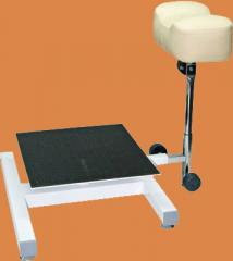 Chair support for pedicure