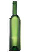 Бутылка стеклянная винная
