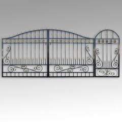 Ворота с калиткой В 1 от производителя