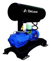 The vacuum DVP1600 installation Delaval (Sweden)