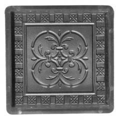 Moulds for paving slabs. Antique Pattern.