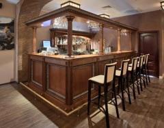 Racks for bar wooden