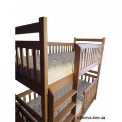 "Двухъярусная кровать ""Сказка"""