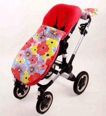 Футмуф расцветки Фиалка в прогулочную коляску