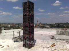 Timbering for square and rectangular columns 40*40