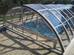 ALUMINIUM NAKRYTIYA FOR POOLS