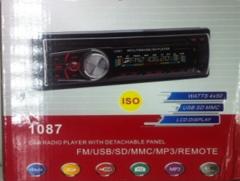 АВТОМАГНИТОЛА  1087 ISO - USB ФЛЕШКИ