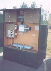 Installation of an osushka of air like OV