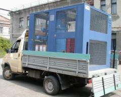 Installation of decontamination of transformer