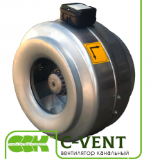 The fan channel for round channels C-VENT. Fans