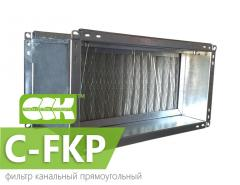Filter channel rectangular Channel-FKP. Units and
