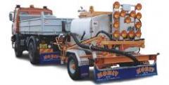 Машины для ямочного ремонта автодорог TURBO UNI